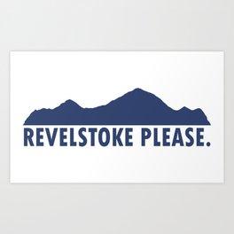 Revelstoke Please Art Print