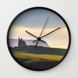 Classiebawn Castle in Couty Sligo - Ireland Prints (RR 264) Wall Clock