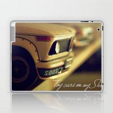 Toy cars on my Shelf Laptop & iPad Skin