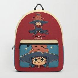 The Shortening Hat // Chibi Wizard, Fantasy, Magic Backpack