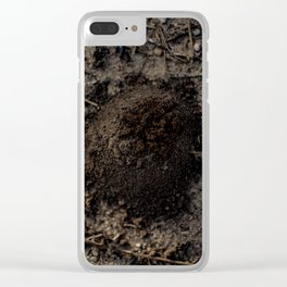 Surfacing From The Sand Clear iPhone Case