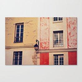 city scenery Canvas Print