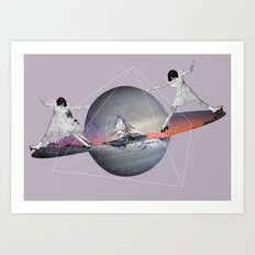 MAGIC ROLLER  Art Print