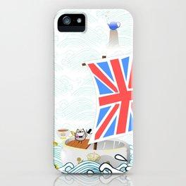 TEA AHOY! iPhone Case