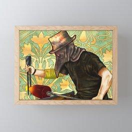 Plague Gaffer Framed Mini Art Print