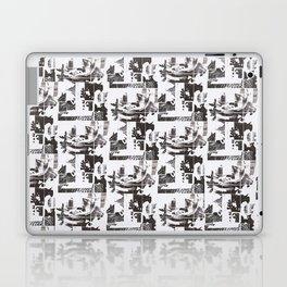 Newsprint Rose Laptop & iPad Skin