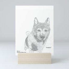 Portrait of Samson Mini Art Print