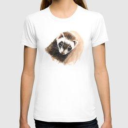 Ferret portrait T-shirt