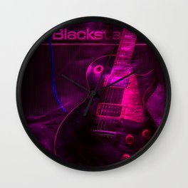 Rock is forever Wall Clock