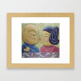 Kisu Framed Art Print