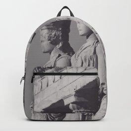 Caryatids of the Erechtheion, ancient greek, Athens agora, Erectheum, Greece photo,  Acropolis of Athens Backpack