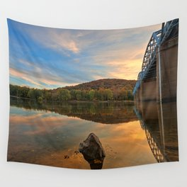 Point of Rocks Sunset Wall Tapestry
