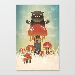 Shroom Guard Canvas Print