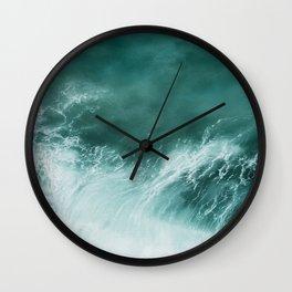 Ocean Roar Wall Clock