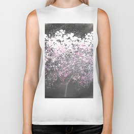 Sumie No.21 Night Blossoms Biker Tank