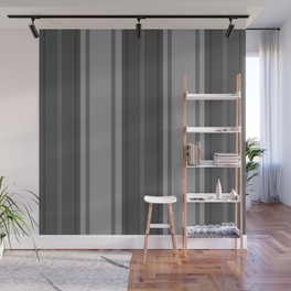 Complexities of Grey Wall Mural
