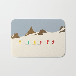 Wes Anderson Hiking Bath Mat