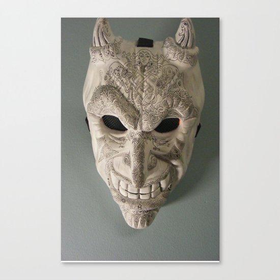 celtic demon Canvas Print