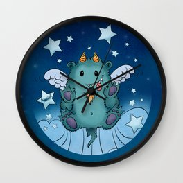 Twinkle Toes the Happy Chaos Monster Wall Clock