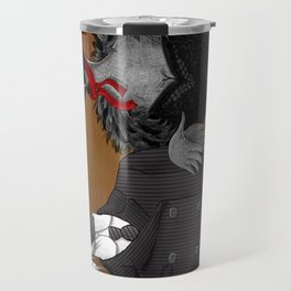 Demoiselle Crane and Grey Crowned Crane Travel Mug