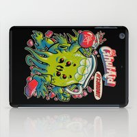 bag iPad Cases featuring CTHUL-AID by BeastWreck