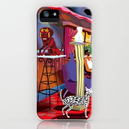 Casa de Citas iPhone Case