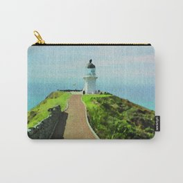Old lighthouse in watercolor Carry-All Pouch