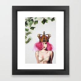 Queen Bitch Framed Art Print