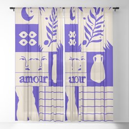 Amour Sheer Curtain