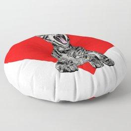 Kitty Heart Floor Pillow