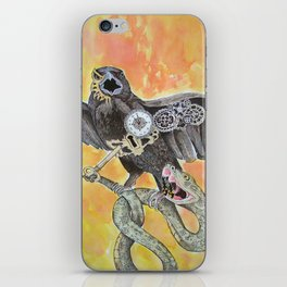 The Raven and the Serpent iPhone Skin