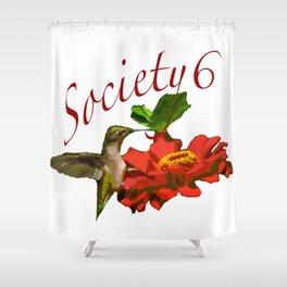 Hummingbird S6 Tee Shower Curtain