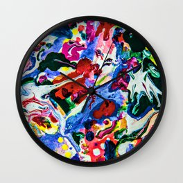 feel the weird Wall Clock