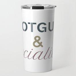 Shotguns & Socialites Travel Mug
