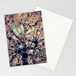 Colorful tree loves you and me. Stationery Cards