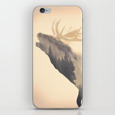 The Voice of Deer Nature iPhone & iPod Skin