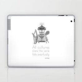 Tribal - All Cultures Share the Same Fate Eventually Laptop & iPad Skin