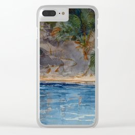 Winslow Homer Blue Spring, Florida Clear iPhone Case
