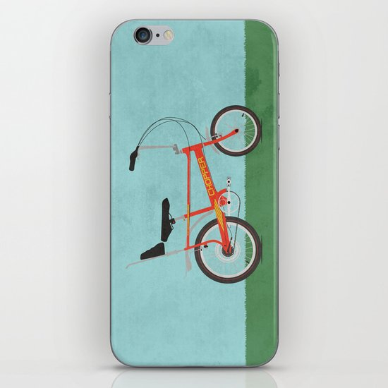 Chopper Bike iPhone & iPod Skin