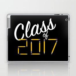 Class of Pencils 2017 White Font Laptop & iPad Skin