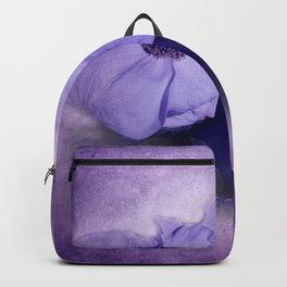 flowers on purple - dogwood 2 Backpack
