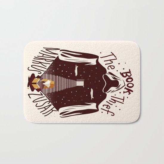 The Book Thief Bath Mat