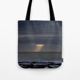 Cutting Storm Clouds Tote Bag