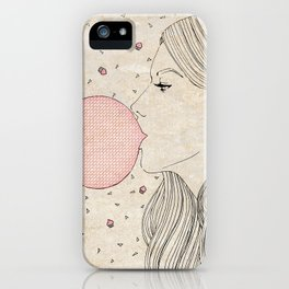 Bubble Gum iPhone Case