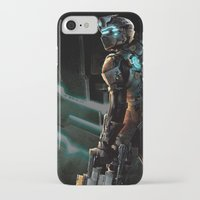 dead space iPhone & iPod Cases featuring Dead Space  by JAGraphic