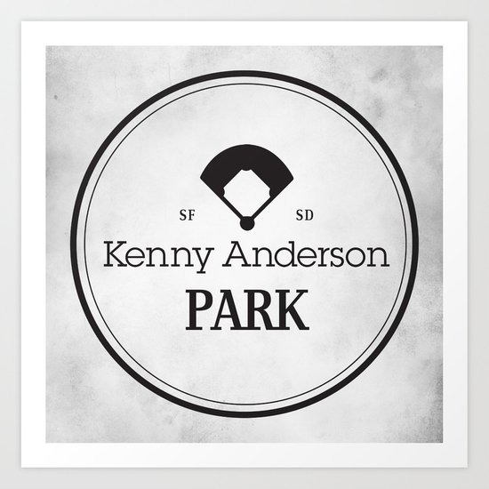 Kenny Anderson Park Art Print