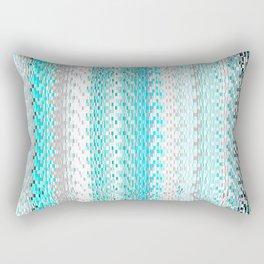 Squares and Lines Rectangular Pillow