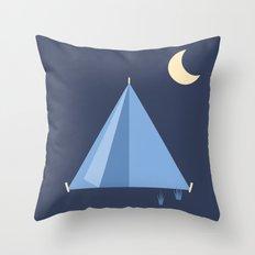 #83 Tent Throw Pillow