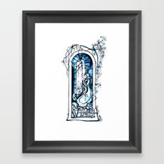A Winter's Tale - Fantasy Art Nouveau - Shakespeare Illustration Art Framed Art Print