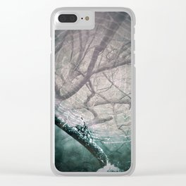 Spider Tree Clear iPhone Case